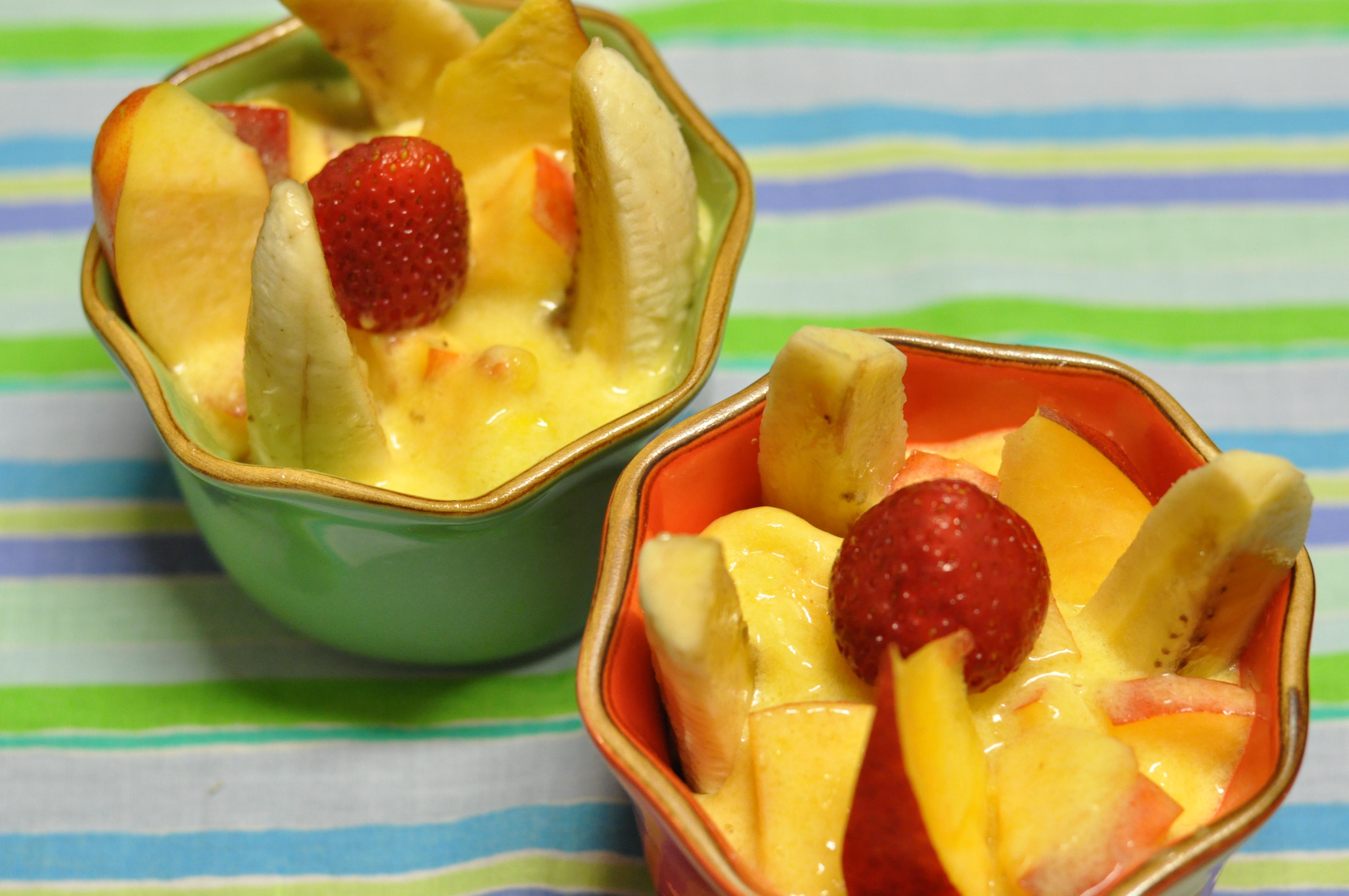 Mango Peach Dessert