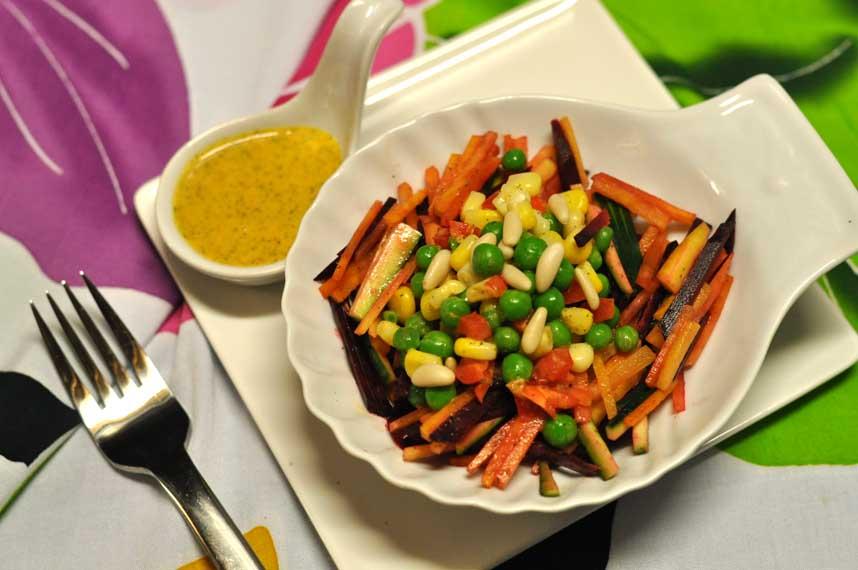 Easter Veggie Stick Salad